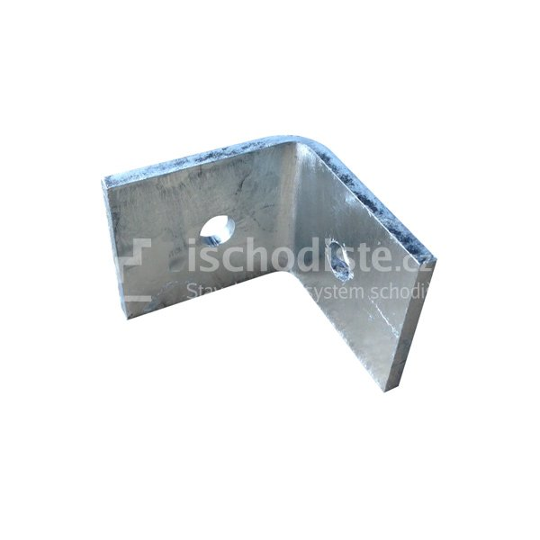 L profil - kotvenie podpery k podlahe