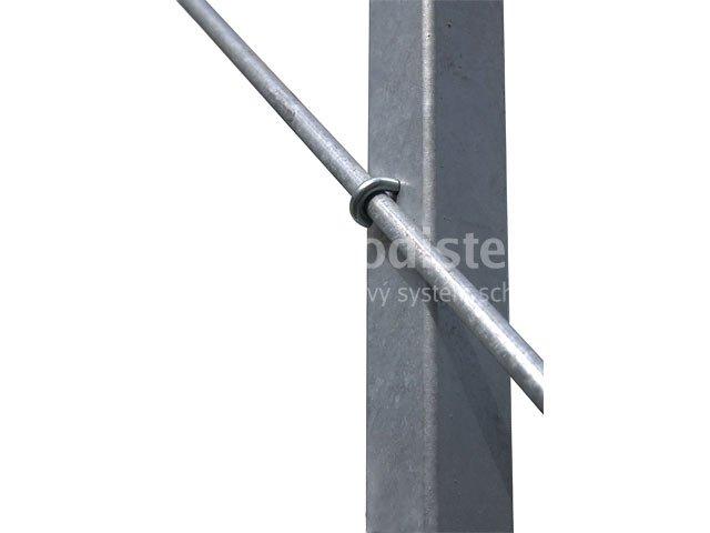 Pozinkovaný prút 10 mm - 1 m