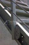 Pozinkovaná schodnica MARBLE 1 m - pravá
