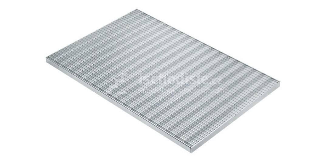 Podestový rošt POROROŠT 1000 x 1000 x 30 mm – 30/10 mm