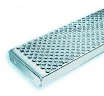 Schodiskový stupeň MARBLE 600x250x45 mm - NEREZ