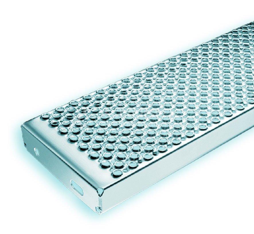 Schodiskový stupeň MARBLE 800 x 300 x 45 mm - NEREZ