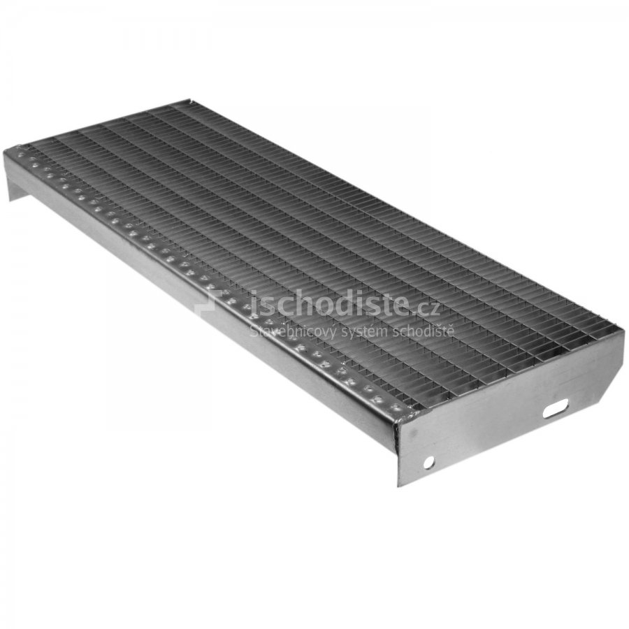 Schodiskový stupeň POROROŠT 1000 x 270 x 30 mm – 30/10 mm