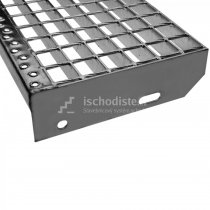 Schodiskový stupeň POROROŠT 700 x 270 x 30 mm – 34/38 mm